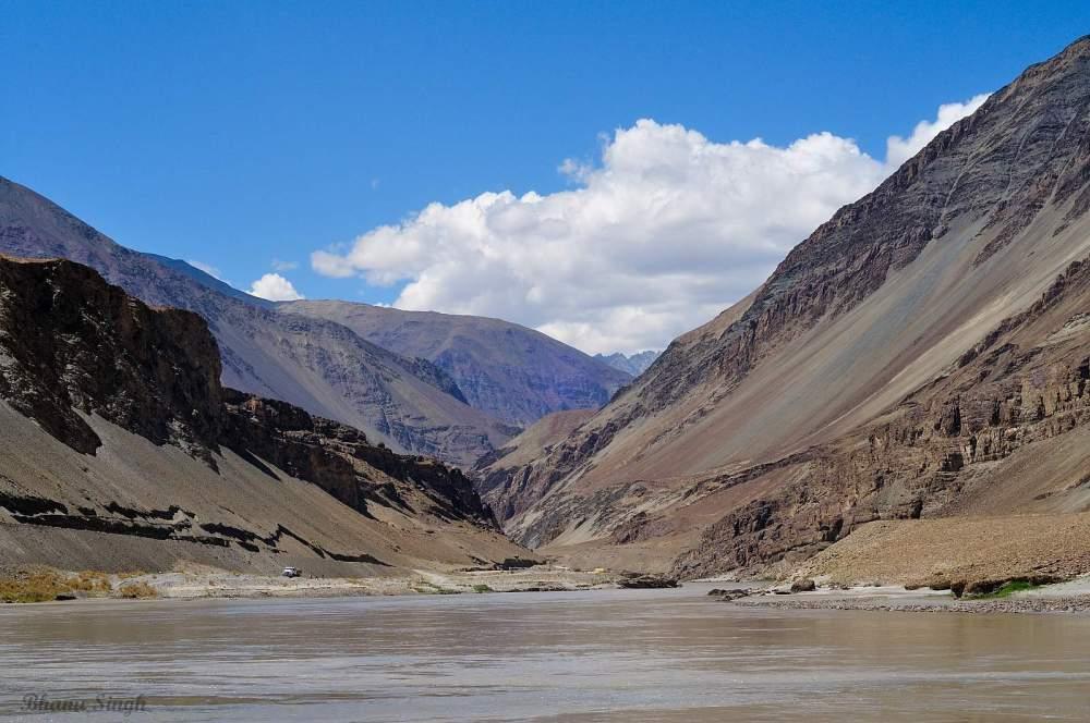 Sangam, Zanskar-Indus Confluence