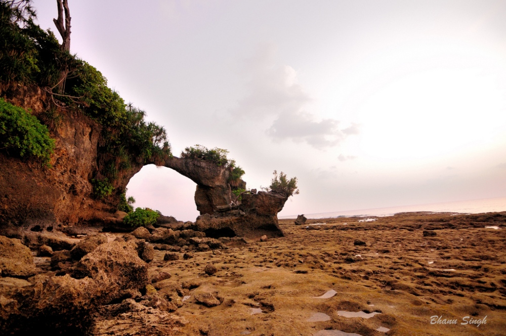 Natural Rock Formation at Laxmanpur Beach #2, Neil Island