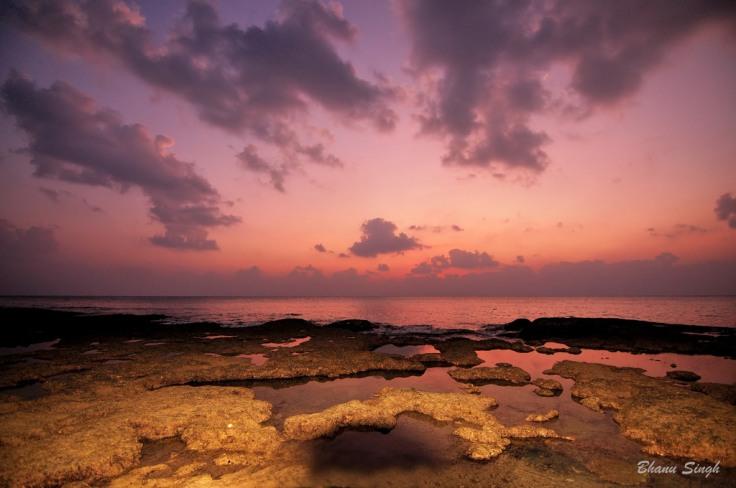 Sun Set at Laxmanpur Beach #2, Neil Island
